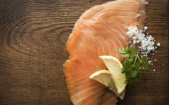 Salmon is an excellent source of healthy Omega-3 fats.